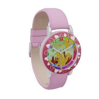 Dragón lindo con Alyssa conocido adaptable Reloj De Mano