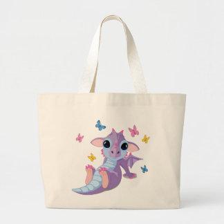 Dragón lindo del bebé bolsas