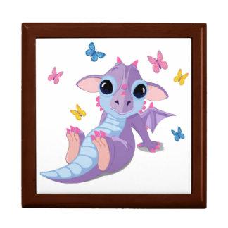 Dragón lindo del bebé cajas de regalo