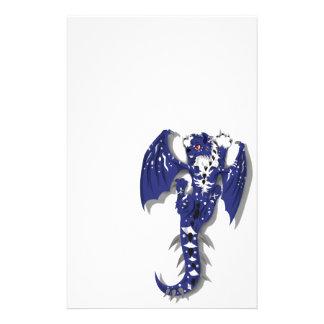 Dragón lindo del monstruo papelería