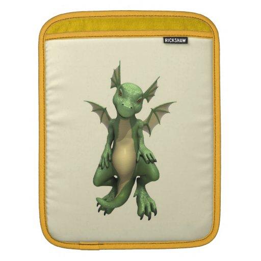 Dragón lindo manga de iPad