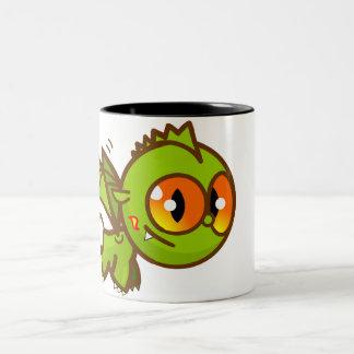 Dragon Little! Two-Tone Coffee Mug