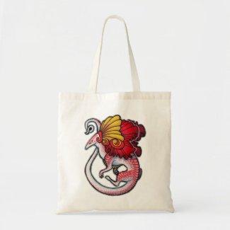 Dragon lizard bag - no BG bag