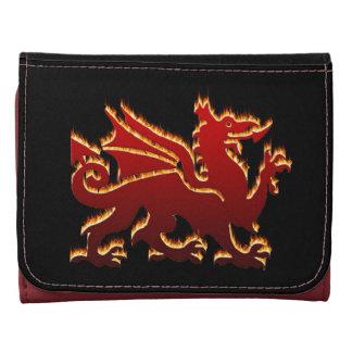 Dragón llameante rojo Galés