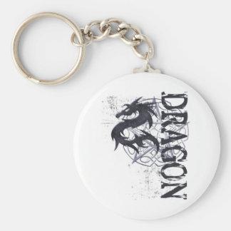 ¡Dragón! Llavero Redondo Tipo Pin