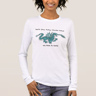 Dragon logo 300 DPI with new flames and scales ... Long Sleeve T-Shirt