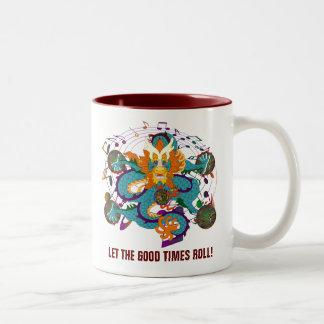 Dragon  Louisiana Two-Tone Coffee Mug