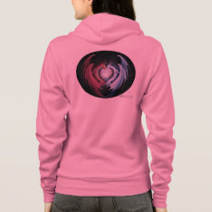 Dragon Love Hoodie at Zazzle
