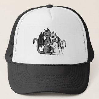 Dragon Lovepair Trucker Hat