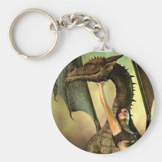 Dragon Lover Keychain