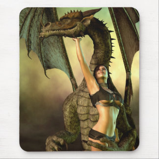 Dragon Lover Mouse Pad
