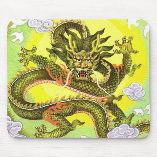 Dragon Luck Mall Mouse Pad