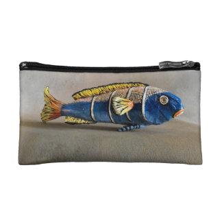 Dragon Mache Fish Food Makeup Bag