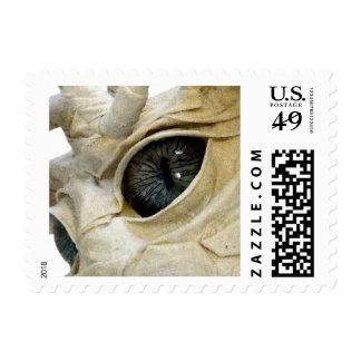 Dragon Mache Luis Gluton Stamp