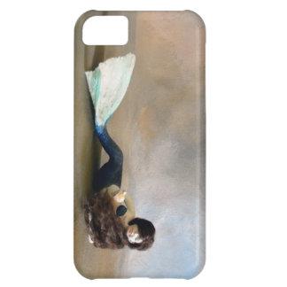 Dragon Mache Tiny Mermaid Case For iPhone 5C