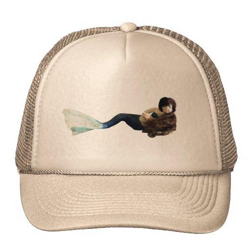 Dragon Mache Tiny Mermaid Trucker Hats