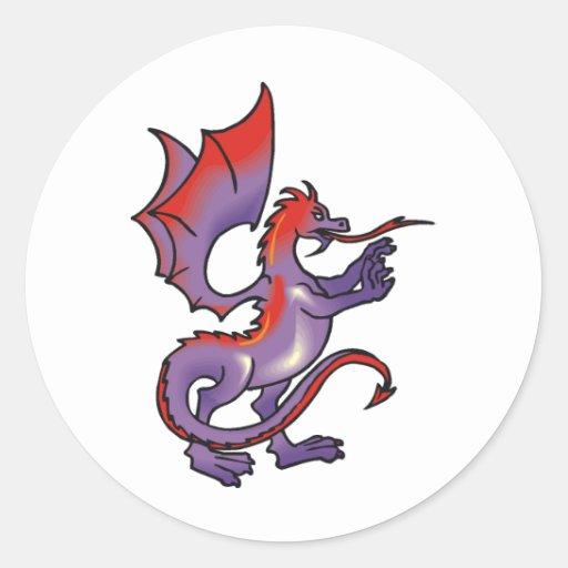 Dragon Magic 8 Sticker