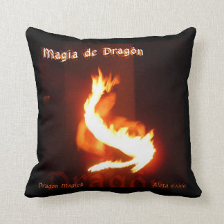 Dragon Magick Throw Pillow