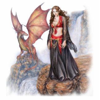 Dragon Maiden Soft Sculpture