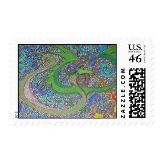 Dragon Mail Stamp
