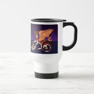Dragon Mama with baby Travel Mug