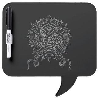 Dragon Mandala Tattoo Design Dry Erase Board