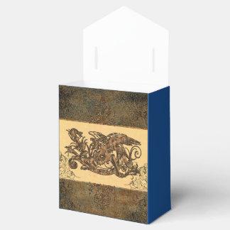 Dragón maravilloso cajas para detalles de boda