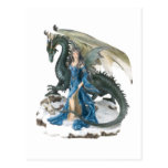 Dragón más doméstico postal