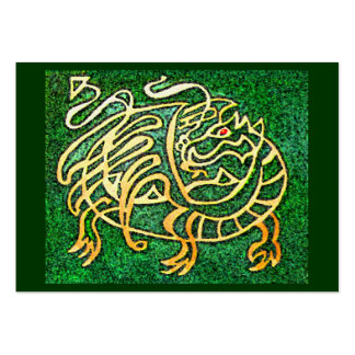 Dragon maze large business card