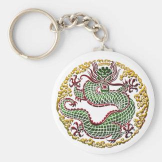 Dragon Medallion Keychain
