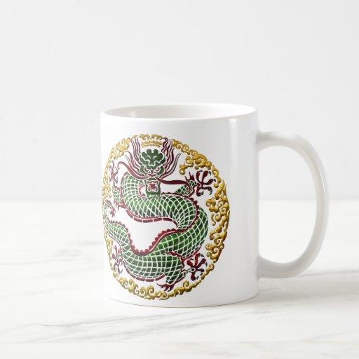 Dragon Medallion Mugs