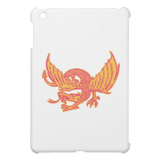 Dragon Medieval Front Etching iPad Mini Cover