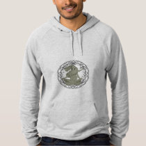 dragon meditation hoodie
