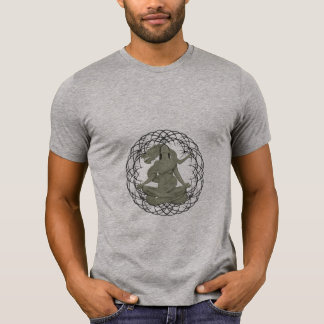 dragon meditation tshirt