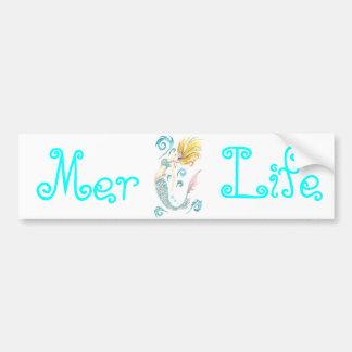Dragon Mermaid Luna Bumper Sticker