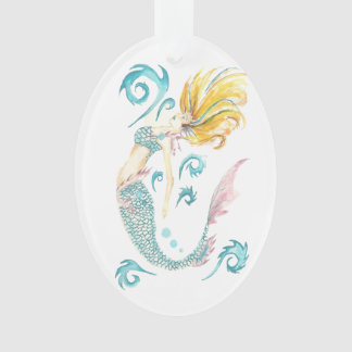 Dragon Mermaid Luna Ornament