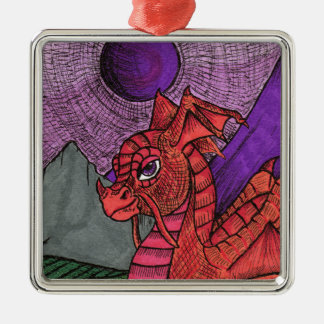 Dragon Metal Ornament