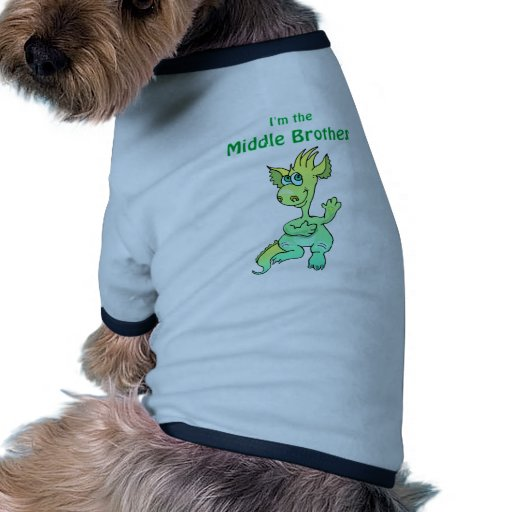 dragon middle brother doggie t-shirt