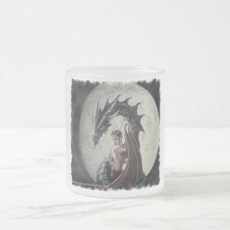Dragon Mistress - Frosted Glass Mug