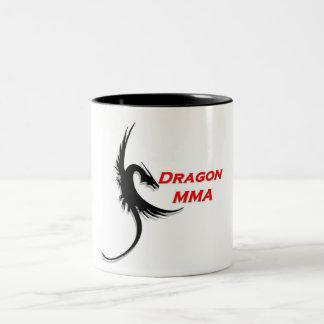Dragon MMA Designs Two-Tone Coffee Mug