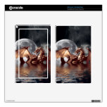 Dragon & Moon Fantasy Electronic Skins Kindle Fire Decal