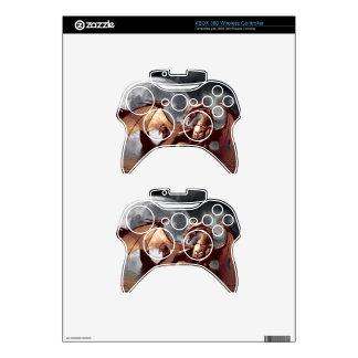 Dragon & Moon Fantasy Electronic Skins Xbox 360 Controller Decal
