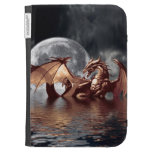 Dragon & Moon Fantasy Mythical Kindle Case