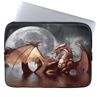 Dragon & Moon Fantasy Mythical Laptop Sleeve