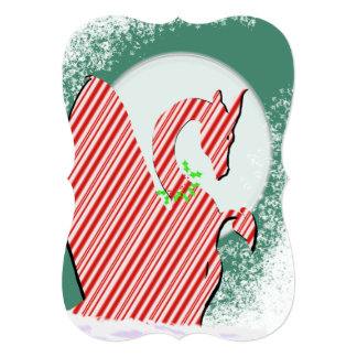 Dragon Moon Holiday (Candy Cane) Card
