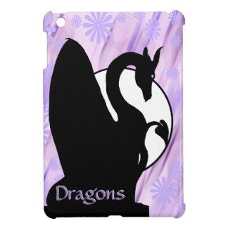 Dragon Moon I (Lavender Flowered) iPad Mini Case