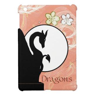 Dragon Moon I (Salmon Flowers) Case For The iPad Mini
