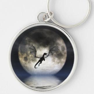 Dragon Moon Keychain