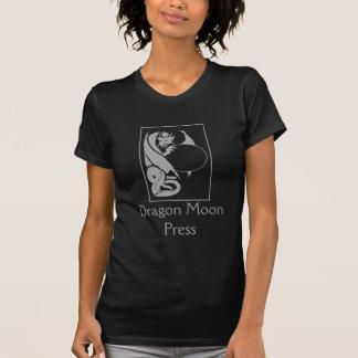 Dragon Moon Press T-shirt - silver logo