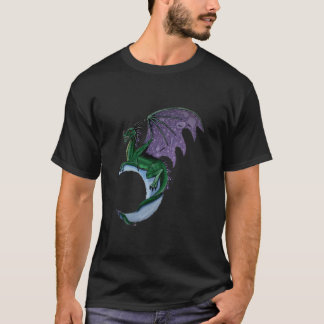 Dragon moon t-shirt